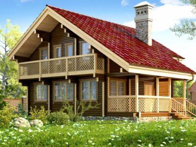 проекты домов из бруса цена под ключ